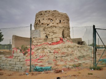 13 heritage fort al dhaid tower restoration protected monument