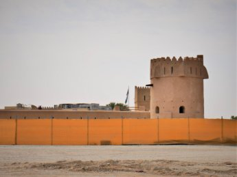15 al dhaid fort museum sharjah inland renovation towers