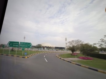 3 sharjah international airport bus stop
