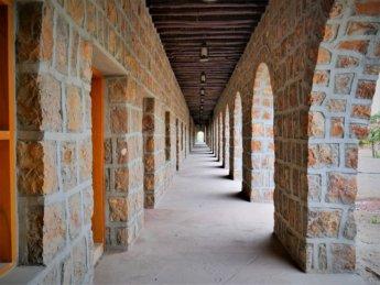 4 red fort al manama ajman hallway renovation complete