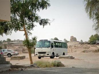 9 old minivan al dhaid sharjah defensive tower ruins heritage
