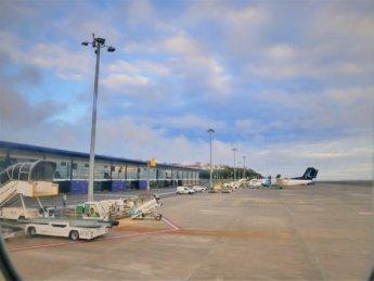 Ponta Delgada international airport João Paulo II terminal