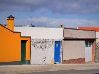 Azores Ponta Delgada golden retriever labrador on rooftop farol santa clara
