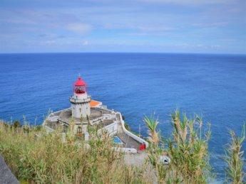 Farol Arnel lighthouse São Miguel easternmost point Azores island