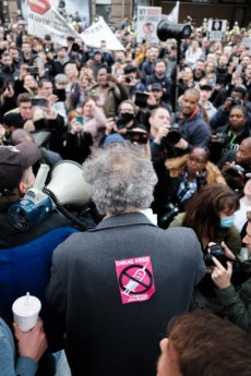covid protest UK anti-vax