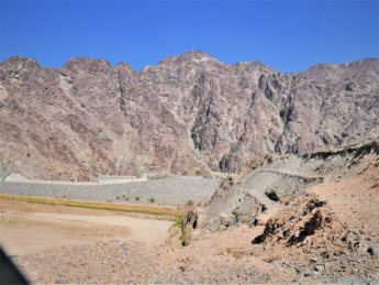 11 al sadah al ridda dam exclave oman no water April road trip Madha and Nahwa