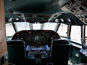 12 cockpit old airplane al mahatta museum sharjah