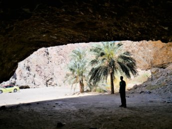 16 Jonas taxi Al Nahwa cave UAE exclave on the bad road between Madha and Nahwa and Wadi Shis