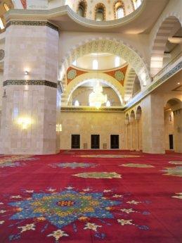 10 Belgian carpet interior arabesque pattern design Sheikh Zayed Grand Mosque Fujairah