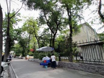2 chalap maksym kvas stand at family medical center no 7 bishkek kyrgyzstan