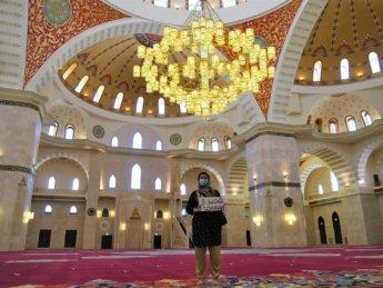 9 Iris interior Sheikh Zayed Grand Mosque Fujairah City East Coast UAE