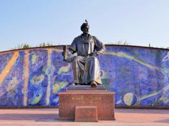 1 Ulugh Beg statue samarkand