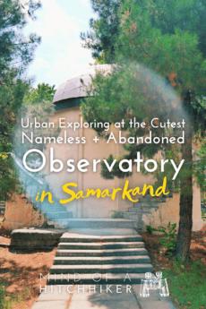 Abandoned observatory samarkand pinterest pin 1
