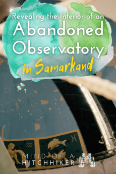 Abandoned observatory samarkand pinterest pin 2
