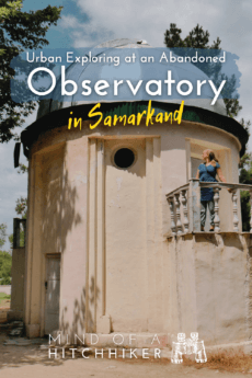 Abandoned observatory samarkand pinterest pin 3