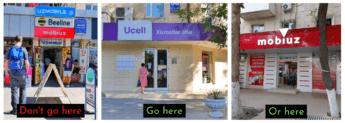 Don't go here how to buy a SIM card in Tashkent Uzbekistan