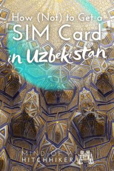 How to get an Uzbek SIM card in Tashkent or Samarkand