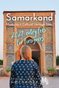 Samarkand museums pins