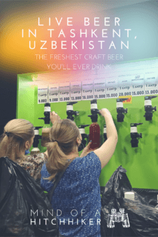 """Though a Muslim-majority country that prefers to produce wine, Uzbekistan also has a bunch of microbreweries that produce delicious and refreshing craft beer for the hot summers in Tashkent and beyond. Here's how you find the super fresh """"live beer"""" when traveling to Uzbekistan"""