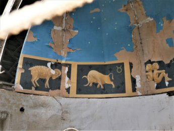 zodiac ceiling painting samarkand observatory abandoned decaying forgotten