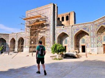 9 Nadir Divan-Begi Madrasah in Samarkand
