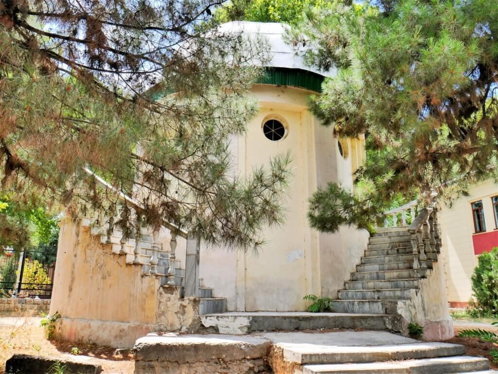 abandoned nameless obseratory samarkand uzbekistan