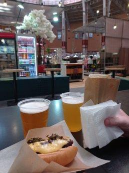vegan hot dogs food birthday in kyiv