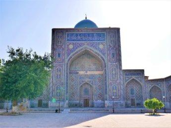 3 madrasas in Uzbekistan not touristy crowded
