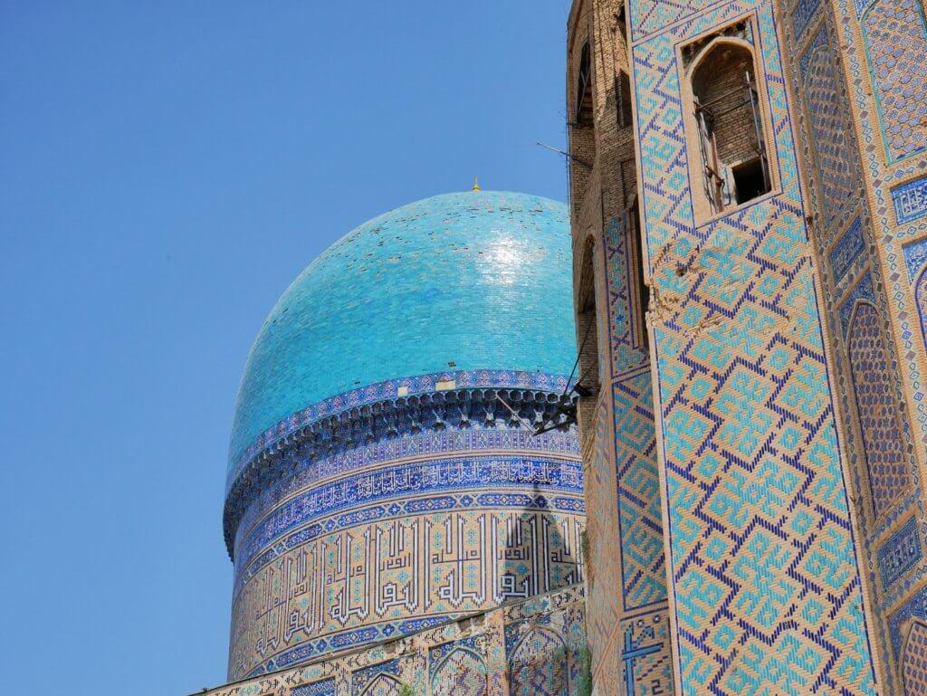 Bibi Khanym mosque samarkand museums heritage sites madrasas