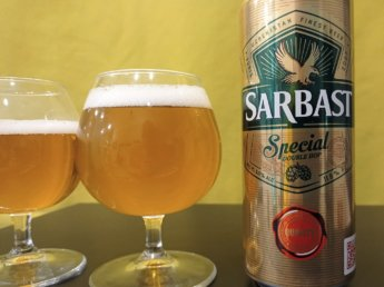 sarbast special double hops beer uzbekistan