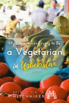 vegetarian food in uzbekistan