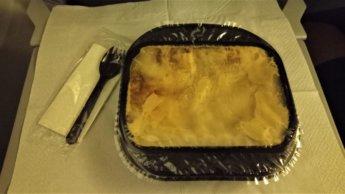ukraine international airlines budget airline no vegetarian food flight tashkent kyiv beef lasagna kinda gross if you think about it