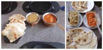 indian food vegetarian in uzbekistan tashkent restaurant the host paneer naan matter malai kofta