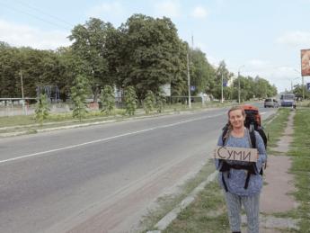 bilopillya to Sumy hitchhiking ukraine