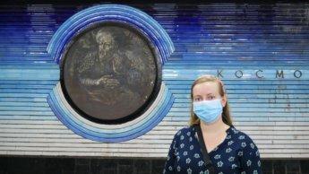 kosmonavtlar station mind of a hitchhiker Iris Veldwijk tashkent metro uzbekistan