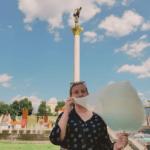 Cotton candy in Ukraine