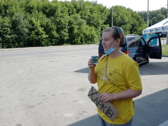 sumy to kharkiv hitchhiking ukraine