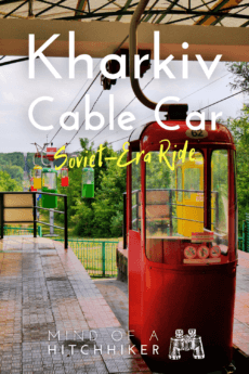 kharkiv cable car doesn't slow down for anyone