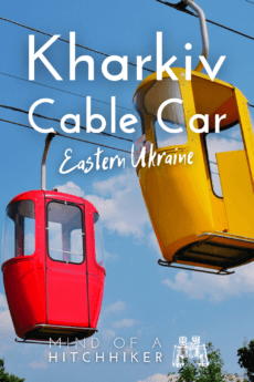 kharkiv cable car primary colors