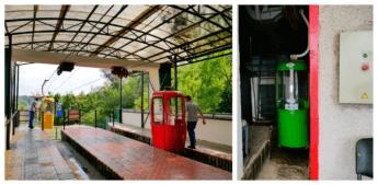 kharkiv cable car upper station maintenance area gondola lift