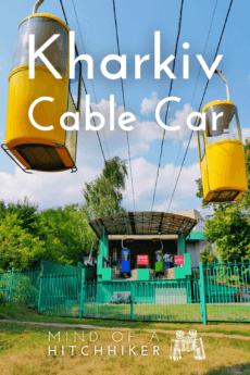 kharkiv cable car upper station sarzhyn yar